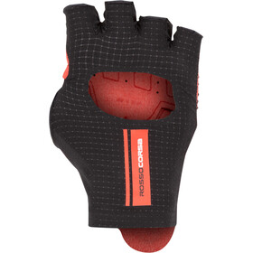 Castelli Cabrio Guantes, black/red